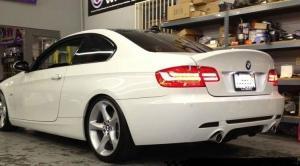 BMW E92 - spoiler na víko kufru. CSL style.