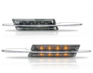 BMW E46 - boční kouřové LED blikače.