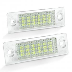 LED osvětlení SPZ-Škoda Superb.