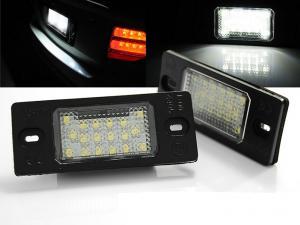 LED osvětlení SPZ-VW Bora Variant.