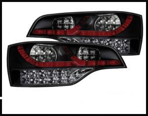 Audi Q7 - zadní LED světla.