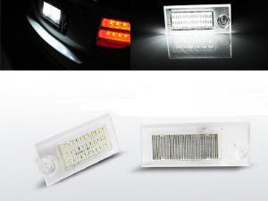 Audi A6 sedan C5 97-04 - LED osvětlení SPZ.