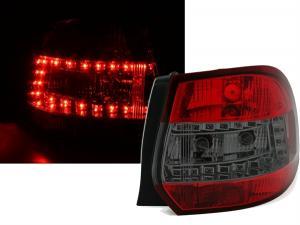 VW Golf 5 variant zadní led světla - Red/Smoke.