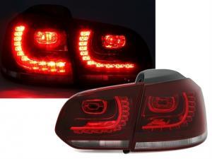 VW Golf 6 - zadní LED světla Red/White.