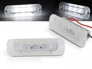 Mercedes W463 - LED osvětlení SPZ.