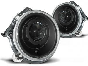 Mercedes W461/W463 přední světla - Black.