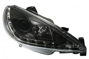 Peugeot 206 přední DayLine světla - Black.