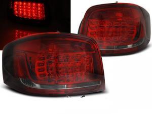 Audi A3 08-12 zadní LED světla Red/Smoke.
