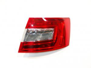 Skoda Octavia 3 (sedan) zadní LED světlo - Pravé.