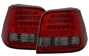 VW Golf IV zadní LED světla Red/Smoke.