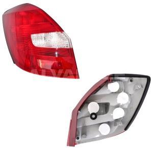 Škoda Fabia 2 - zadní světlo - Levé.