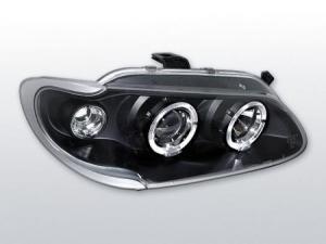 Renault Megane přední světla Angel Eyes-Black