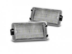 Seat - LED osvětlení SPZ.