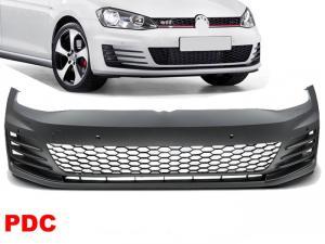 VW Golf 7 - přední nárazník vzhled GTI.