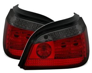 BMW E60 zadní LED světla Red/Smoke - Dynamický Blikač.