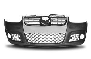 VW Golf 5 - přední nárazník GTi. Chrom maska.