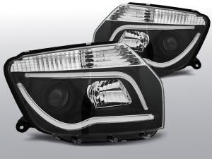 Dacia Duster přední světla - BLACK TUBE LIGHT.