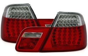 BMW E46 (cabrio) zadní LED světla Red/White.