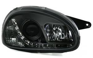 Opel Corsa přední světla DAYLINE-Black