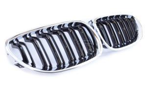 BMW E60 -  Maska - Black/Chrom.