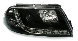 VW Passat B5.5 (3BG) přední světla s denním svícením - Black.