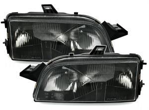 Fiat Punto přední světla - Black.