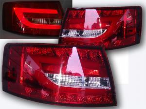 Audi A6 zadní LED světla RedWhite. 6 PIN