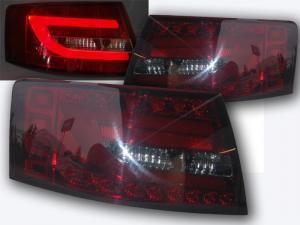 Audi A6 zadní LED světla Red/Smoke. 6 PIN