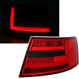 Audi A6 zadní LED světla RedSmoke. 7PIN