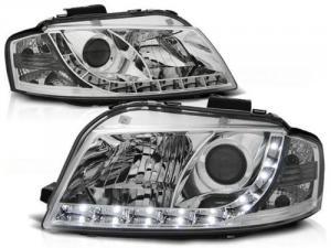 Audi A3 přední světla DAYLINE-Chrom.