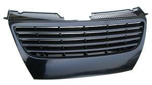 VW Passat B6 - černá maska bez znaku.