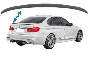 BMW F30 - zadní spoiler víka kufru. Black. M-PERFORMANCE.