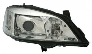 Opel Astra přední světla-Chrom