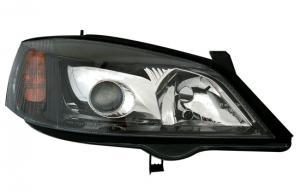 Opel Astra přední světla-Black