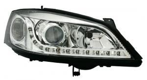 Opel Astra přední světla DAYLINE-Chrom