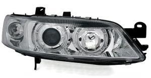 Opel Vectra přední světla Angel Eyes-Chrom
