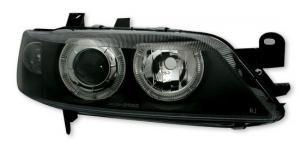 Opel Vectra přední světla Angel Eyes-Black