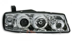 Opel Calibra přední světla Angel Eyes-Chrom