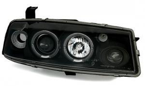 Opel Calibra přední světla Angel Eyes-Black