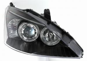 Ford Focus přední světla Angel Eyes-Black