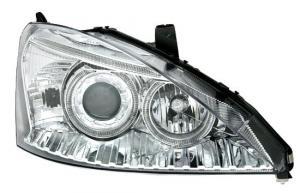 Ford Focus (facelift) přední světla Angel Eyes-Chrom