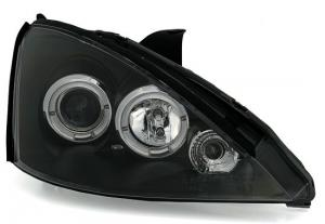 Ford Focus (facelift) přední světla Angel Eyes-Black