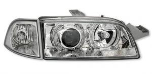 Fiat Punto přední světla Angel Eyes-Chrom