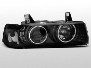 BMW E36 (sedan,touring,compact) přední světla Angel Eyes (CCFL) Black