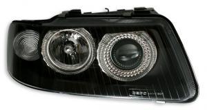 Audi A3 přední světla Angel Eyes-Black