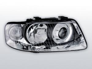 Audi A3 přední světla-Chrom