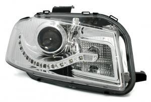Audi A3 přední světla DAYLINE-Chrom