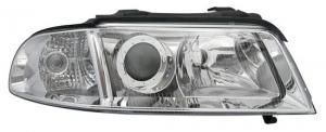 Audi A4 přední světla-Chrom