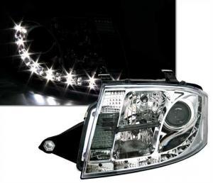 Audi TT přední světla DAYLINE-Chrom