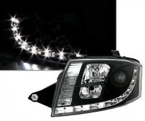 Audi TT přední světla DAYLINE-Black